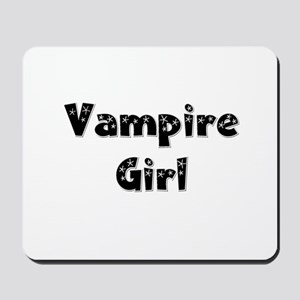 Twilight ~ Vampire Girl [BLK] Mousepad